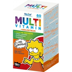 Revital MULTIVITAMÍN + KOLOSTRUM  The Simpsons 45 tabliet