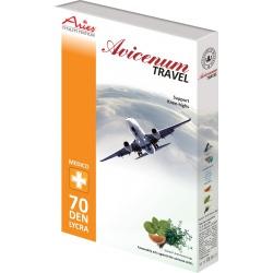 Avicenum 70 - podkolienky Travel (cestovné), zosilnená päta