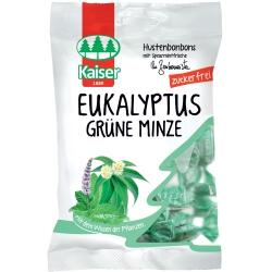 Eukalyptus grüne minze - zelena mäta bez cukru DIA