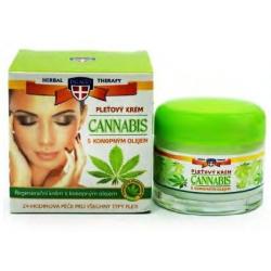 Cannabis pleťový a telový hydratačný krém 50ml