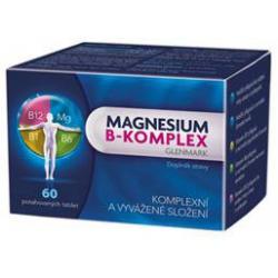 MAGNESIUM B-KOMPLEX Glenmark tablety 60