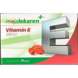 VITAMÍN E 200 mg tobolky 30