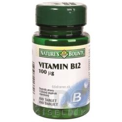 N. BOUNTY VITAMÍN B12 tbl 100 µg 1x100 ks