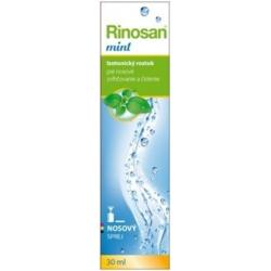 Rinosan mint nosový sprej Izotonický roztok 30 ml