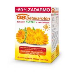 GS Betakarotén FORTE s nechtíkom 30cps
