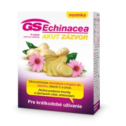 GS Echinacea Akut zázvor 15tbl