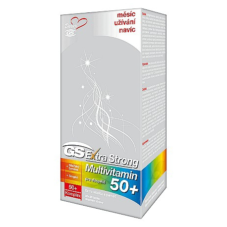 GS Extra Strong Multivitamin 50+ tbl. 90+30
