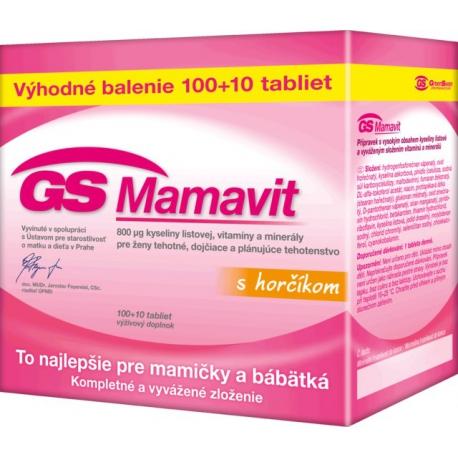 GS Mamavit s horčíkom 100+10tbl