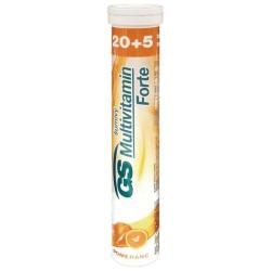 GS Multivitamín šumivý FORTE pomaranč 20+5tbl