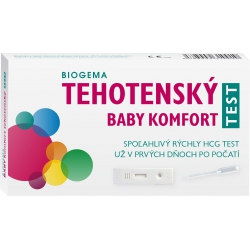 BABY TEST komfort – doštička