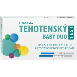 Tehotenský test baby duo 2 ks