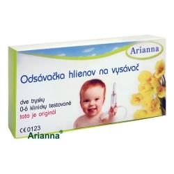 ARIANNA Odsávačka nosových hlienov, pre deti, pripojiteľná k vysávaču