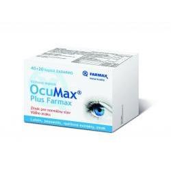 OcuMax Plus Farmax 40 + 20 cps zadarmo