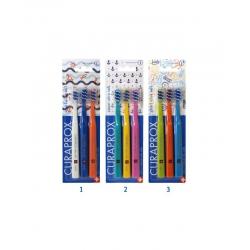Curaprox Smart Ultra Soft 7600 zubná kefka pre deti aj dospelých 3ks