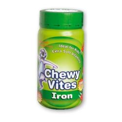 Chewy Vites Iron pektínové medvedíky s príchuťou hrozna 1x60 ks