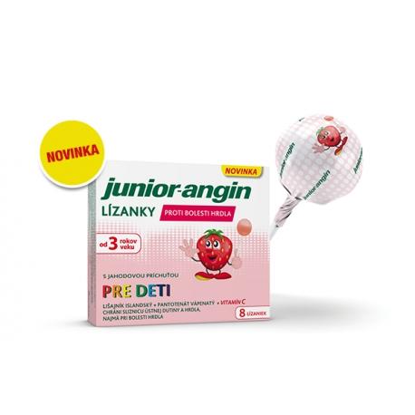 Junior-angin lízanky 8ks