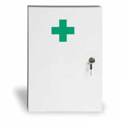 Lekárnička nástenná - drevená uzamykateľná