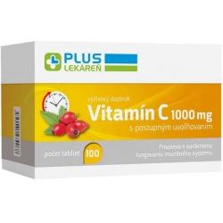 Plus lekáreň Vitamín C 1 000 mg, 100 tbl