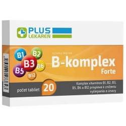 Lekáreň plus B-komplex forte 20 tbl
