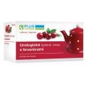 PLUS LEKÁREŇ Urologická bylinná zmes s brusnicami porciovaná 20 x 1,5 g