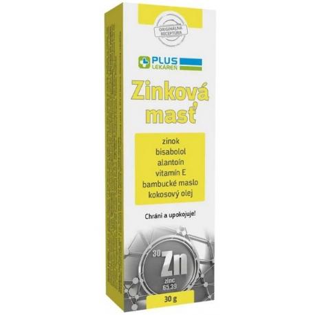 Plus Lekáreň Zinková Mastť 30g