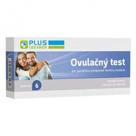 Ovulačný test, 6 kusov testovacích prúžkov