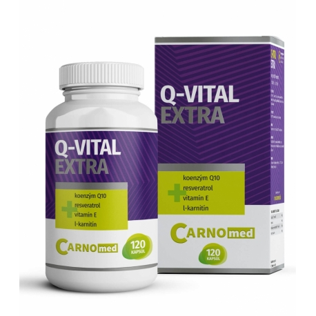CarnoMed Q-Vital Extra 120 tabliet