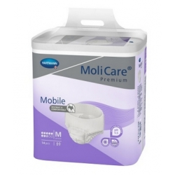 Molicare MOBILE SUPER Medium/Large - plienkové nohavičky