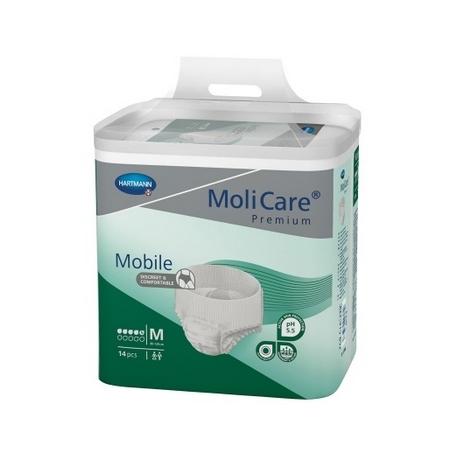 MoliCare Premium Mobile 5 kvapiek M/L/XL - navliekacie nohavičky