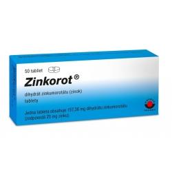 Zinkorot tbl.50 x 25 mg