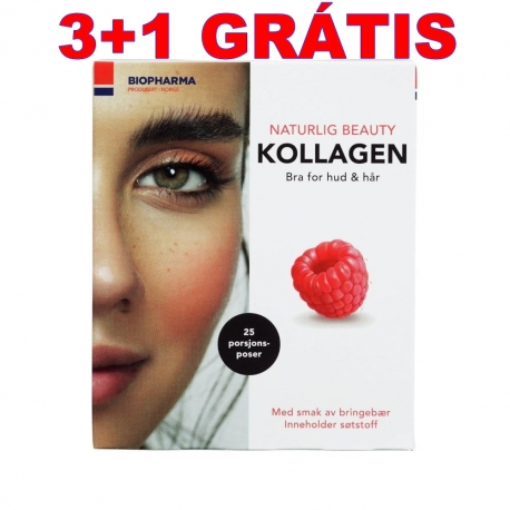 BIOPHARMA Norsk Kollagen malina 25 x 5 g