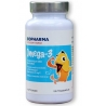 BIOPHARMA Omega-3 Barn žuvacie kapsule s rybím olejom pre deti 120 kapsúl