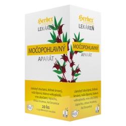 HERBEX Lekáreň MOČOPOHLAVNÝ aparát bylinná zmes 20 x 3 g