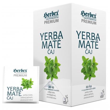 HERBEX YERBA MATÉ juhoamerický bylinný čaj 20 x 1,5 g