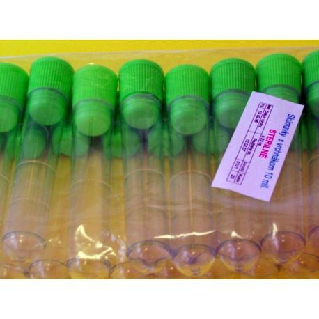 Skúmavka sterilná umelohmotná 20ks/bal