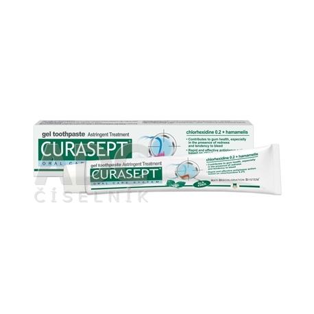 CURASEPT Astringent gélová zubná pasta 75 ml