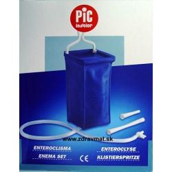 Súprava vyplachovacia irigátor z PVC skladacia- klystír