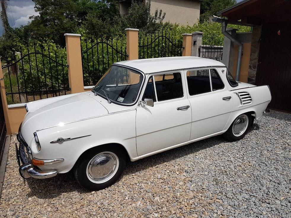 Predám ŠKODA 1000MB 100% STAV 29 000km r.v. 1967.